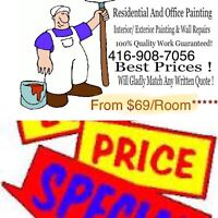 Painter/$69/Room LOW PRICES!