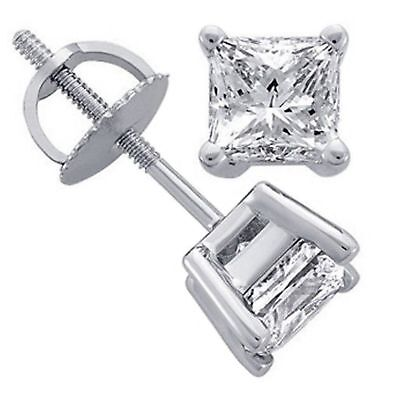 half carat diamond earrings for sale  Shipping to Canada