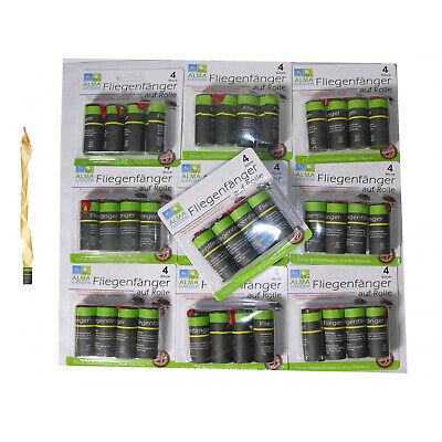 40x Atrapamoscas Trampa Adhesiva Mosca Trampas para Insectos Colector de Mosca