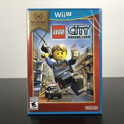 LEGO City Undercover Nintendo Selects Game (Nintendo Wii U) - NEW