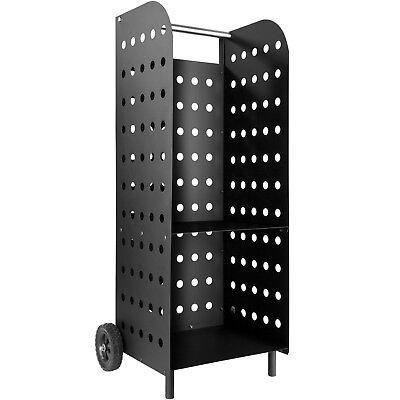 Chariot à bois de chauffage cheminée panier porte-foyer au bois poêle