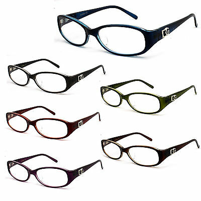 DG Reading Glasses Mens Womens Classic Retro Design Eyewear Reader
