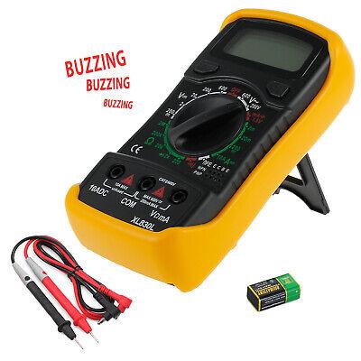 Digital Lcd Multimeter Ac Dc Voltage Dc Current Tester W Backlight Alert Buzzer