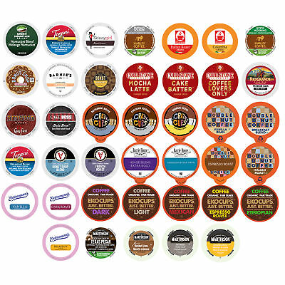 Coffee Single Serve Cups Variety Pack Sampler, 40 Ct