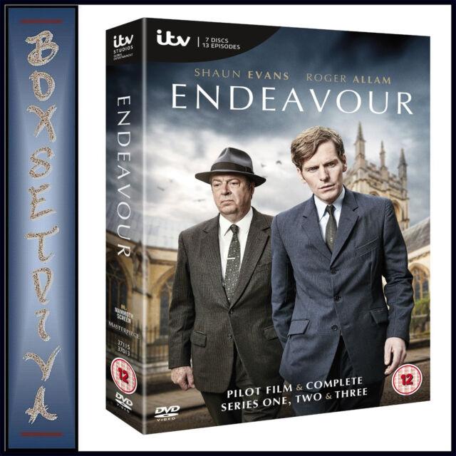 ENDEAVOUR - COMPLETE SERIES 1 2 & 3 *BRAND NEW DVD BOXSET ***