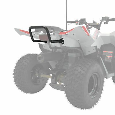 Polaris ATV Rear Bumper, Black