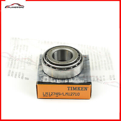1 Pcs Timken Lm12749 Lm12710 Cup Cone Tapered Roller Bearing Set Brand New