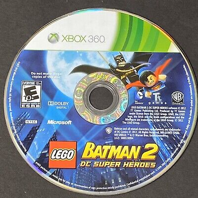 LEGO Batman 2: DC Super Heroes (Xbox 360, 2012) Disk Only