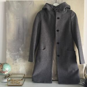 Aritzia Babaton Pearce coat in dark grey size xxs