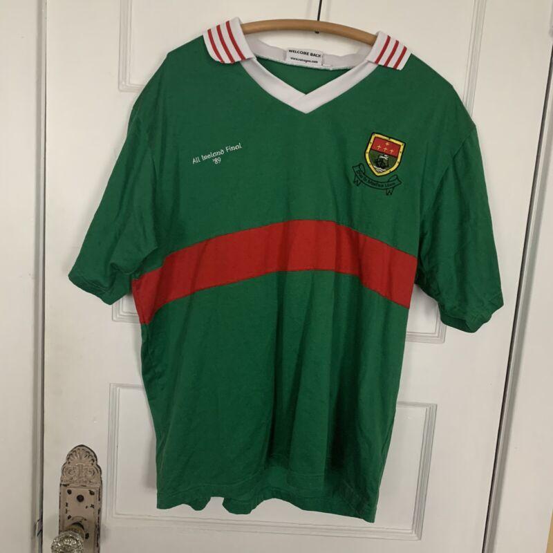 Vintage Ireland Retro GAA International Gaelic Celtic Football Shirt Jersey XXL