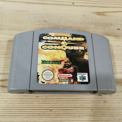 Command And Conquer - N64 Nintendo 64 - Cartridge only - Pal