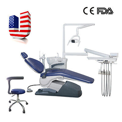 Model-tj2688 Computer Controlled Integral Dental Unit Chair Wwater Lamp Syringe