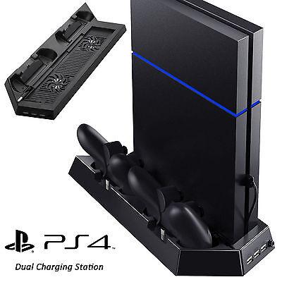 EEEKit PS4 Fan Cooler Vertical Stand Dual PlayStation 4 Controller Charger Dock