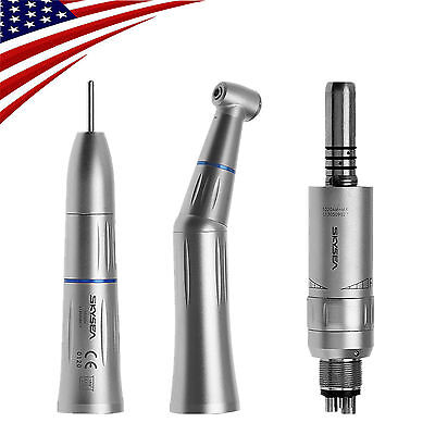 Usa Kavo Style Dental Low Speed Handpiece Kit Inner Water Spray Contra Angle