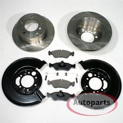 Mercedes Sprinter 3t - Bremsscheiben Bremsbeläge 2 Spritzbleche für hinten*