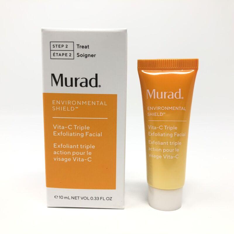 Murad Environmental Shield Vita-C Triple Exfoliating Facial Travel Size (0.33oz)