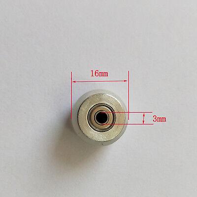 10 Pcs Redsail Silica Gel Pinch Roller Wheel For Vinyl Cutter Plotter 31216mm