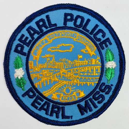 Pearl Police Mississippi MS Patch