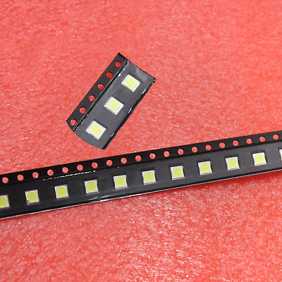 50PCS SMD LED 3535 6V Cold White CHIP-2 2W For TV/LCD Backlight TV Ap