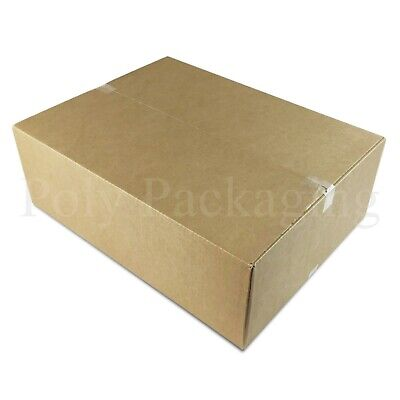 200 x Maximum Size ROYAL MAIL SMALL PARCEL 450x350x160mm Cardboard Postal Boxes
