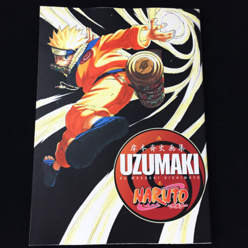 "NARUTO Illustration Art Book ""UZUMAKI"" | JAPAN Anime Masashi Kishimoto"