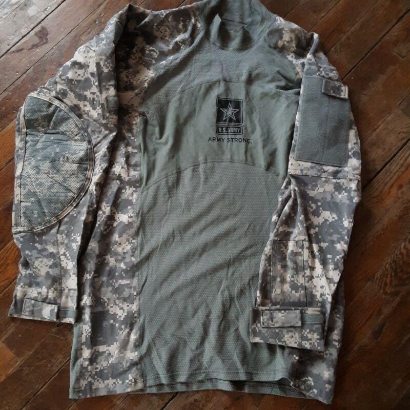 Large Army Combat Shirt Massif Mountain Bear Countey Long sleeve