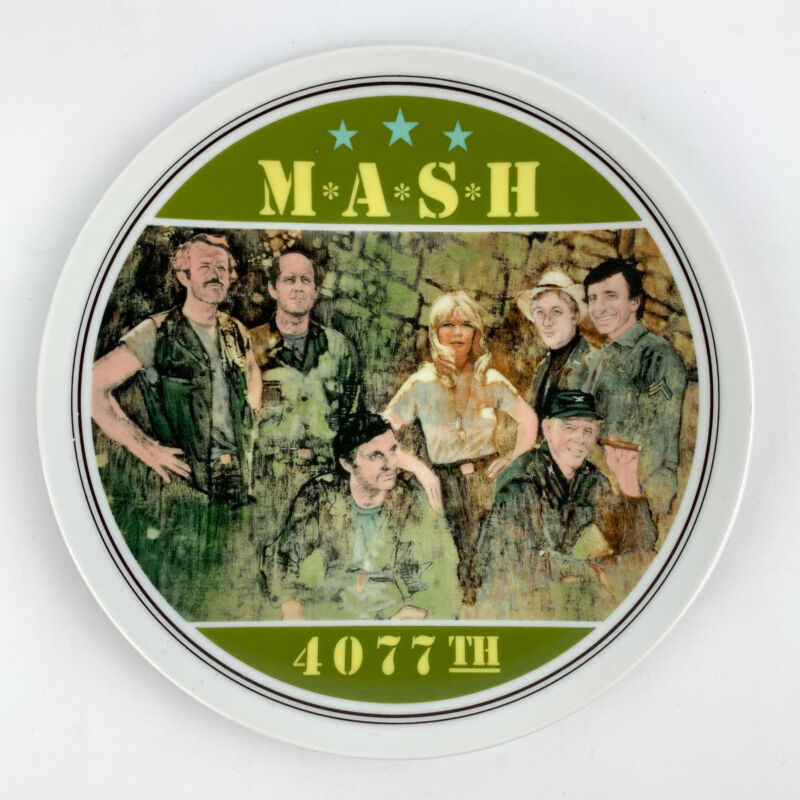 1982 MASH 4077th The Commemorative Plate by Royal Orleans 17980