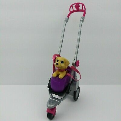 Barbie Strollin' Pups Playset Replacement Stroller & Pup Without Canopy