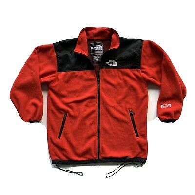 Vintage 90s Mens The North Face Gore-Tex Windstopper Fleece Red 2XL XXL Vtg
