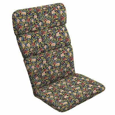 Arden + Artisans Cecelia Floral Adirondack Chair Cushion Blue Floral Chair Cushion