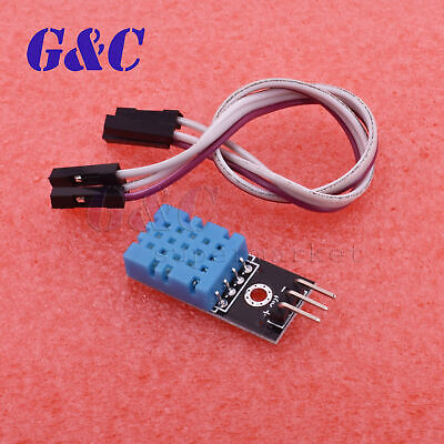2pcs Arduino Dht11 Temperature And Relative Humidity Sensor Module Good Quality