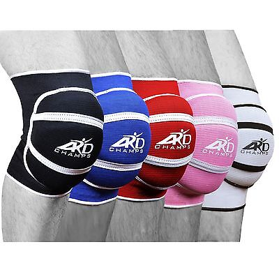 ARD Top Quality, Pair of Poly-Cotton Non-slip elastic Fiber Knee Pads Protector