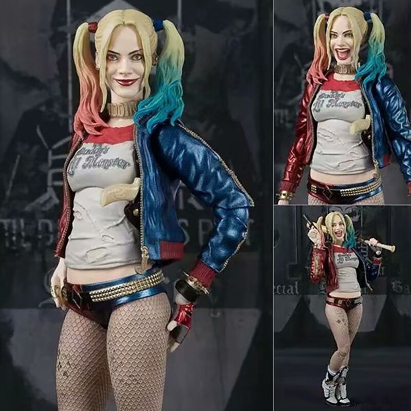 """6"""" Suicide Squad Harley Quinn PVC Action Figure Collection P"""