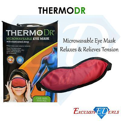 ThermoDr Compress Eye Mask Bag For Dry Eyes / Blepharitis / Chalazion Microwave