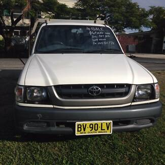 2004 Toyota Hilux Ute Mullumbimby Byron Area Preview