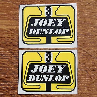Motorcycle Biker Vinyl Sticker Helmet Isle Of Man TT North West 200 JOEY DUNLOP