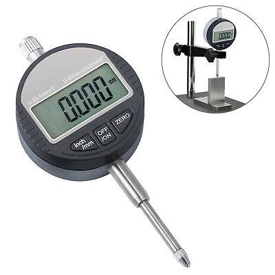 0.001mm0.00005 Digital Probe Dial Indicator Gauge Clock Range 0-25.4mm1