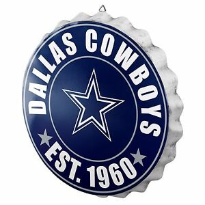 Dallas cowboys decor ebay dallas cowboys bottle cap sign est 1960 room bar decor new 135 voltagebd Image collections