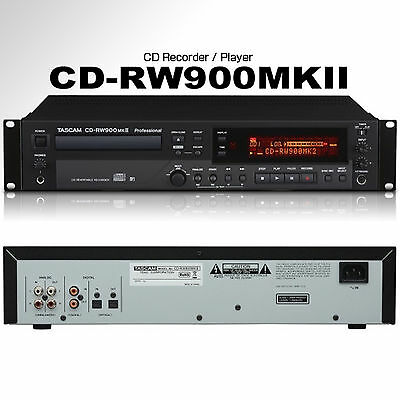 Tascam Remote Control - TASCAM CD-RW900MKII Professional Rackmount Recorder / Player with Remote Control