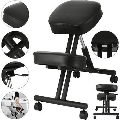 Ergonomic Kneeling Chair Adjustable Stool Meditation Home Office Straighten