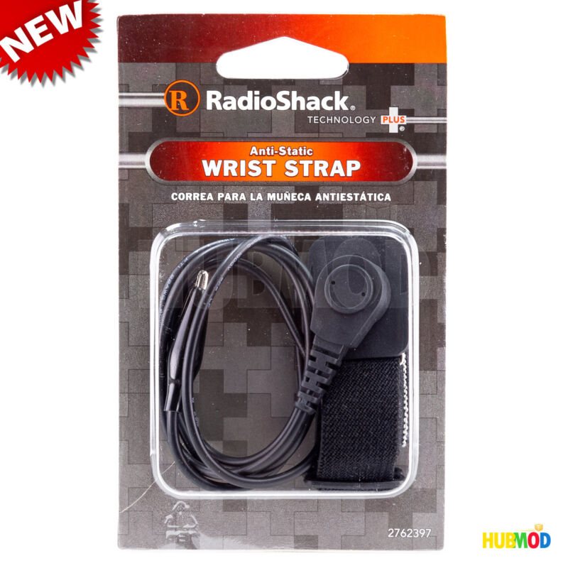 RadioShack ANTI-STATIC ESD ADJUSTABLE WRIST STRAP 2 ft Grounding Bracelet Band