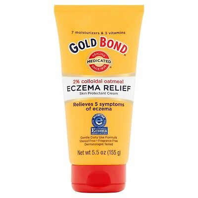 Gold Bond Medicated Eczema Relief Cream   5 5 Oz