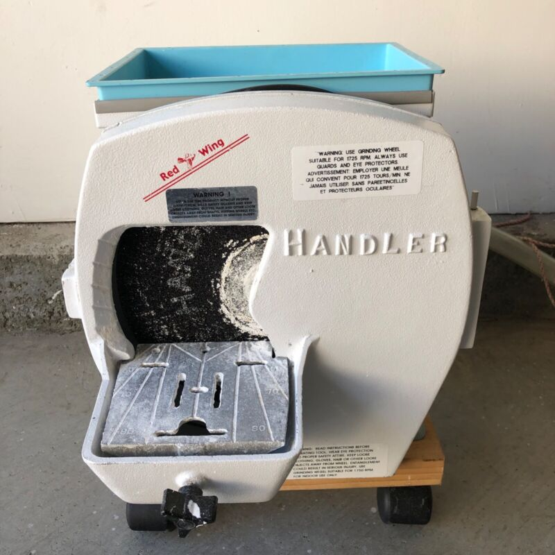Handler Model Trimmer 1/3 HP. Swing-Open Front Housing