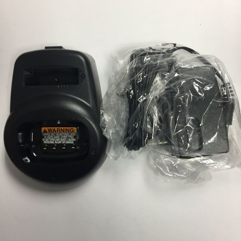 Motorola CLS Radio Charger NEW (HCTN4001A) or (56553) For CLS1110, CLS1410, VL50