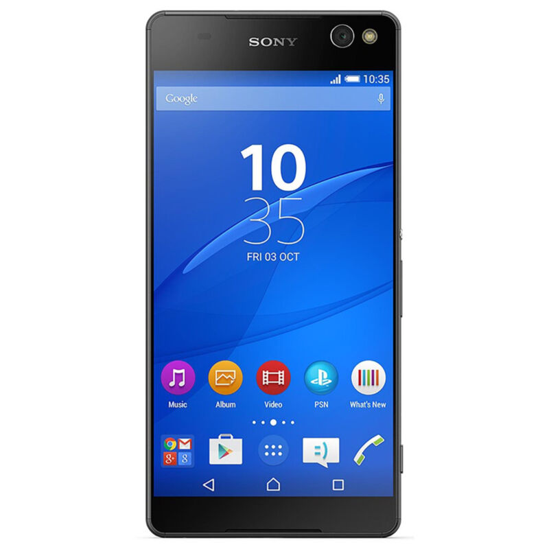 Sony Xperia C5 Ultra 4G LTE with 16GB Memory Cell Phone (Unlocked) Black E5506