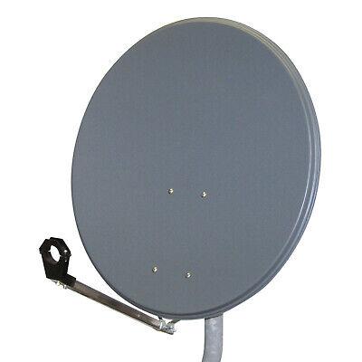 SAT-Antenne HQ 90cm TOP Qualität DIGITAL Satellitenschüssel Schüssel  Anthrazit