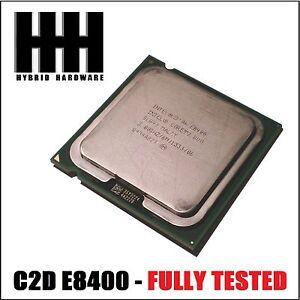 Intel Core 2 Duo E8400 CPU 3.0 GHz /6M/1333 Mhz Processor LGA 775 - FULLY TESTED