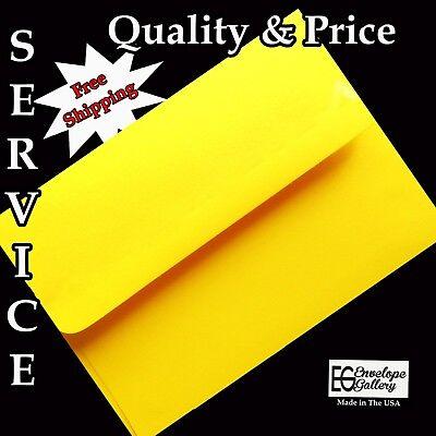 Neon Yellow Envelopes for Announcement Invitation Shower Enclosure A1 A2 A6 A7](Neon Invitations)