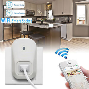 Smartphone Controlled Outlet wifi power switch | ebay