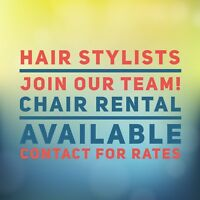 Hairstylist- Chair Rental Available